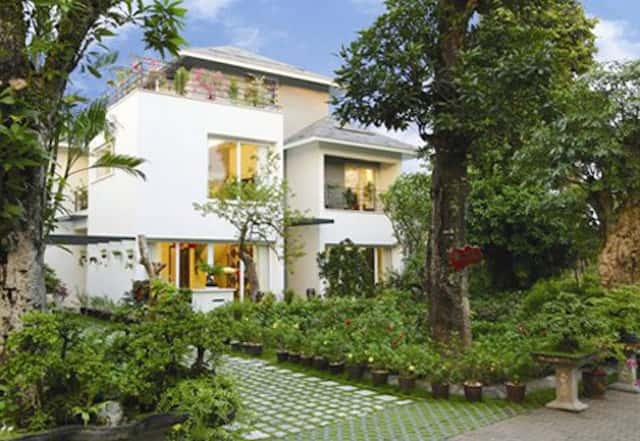 biet thu nha vuon 2 tang b - Thiết kế nhà vườn đẹp