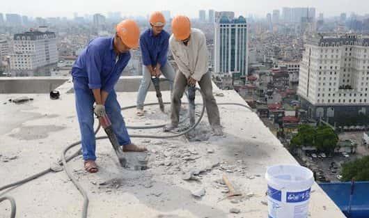 Dịch vụ khoan cắt phá dỡ bê tông chuyên nghiệp