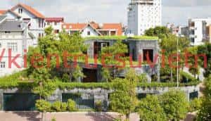 khong gian xanh 300x172 - Thiết kế nhà với nhiều không gian xanh và hiện đại