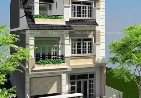Tư vấn mẫu thiết kế biệt thự 3 tầng đẹp kinh phí 2 tỷ