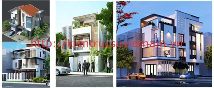 mau thiet ke dep phong cach hien dai dep 1 - Thiết kế nhà 3 tầng anh Đoàn Ngọc Quang - Đà Nẵng