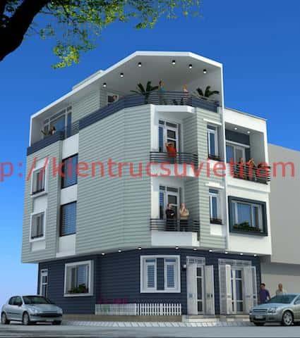 nha 2 mat ten - Thiết kế nhà đẹp ở tại Cần Thơ