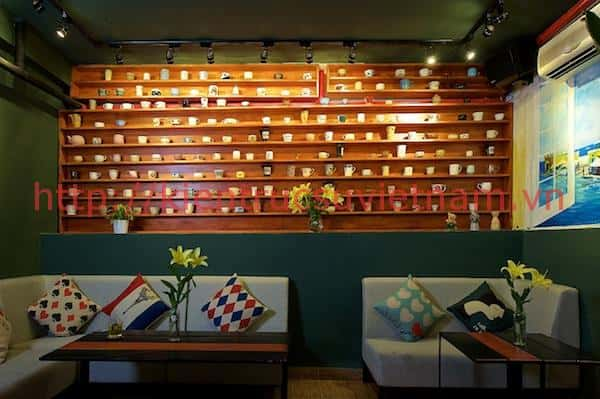 Thiết kế quán cafe đẹp ở Hà Nội để chụp ảnh