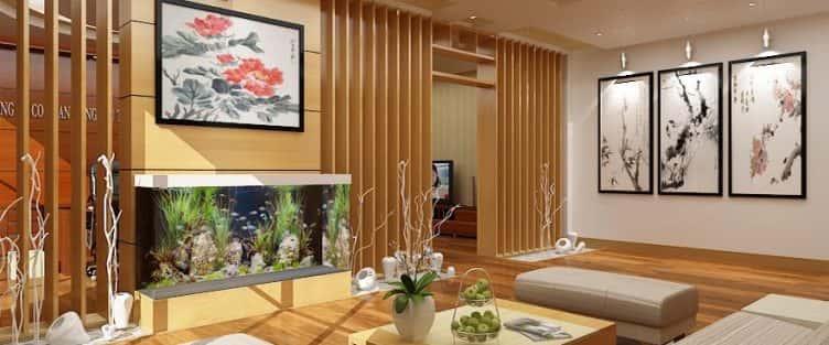 Tư vấn thiết kế nội thất nhà ống 2 tầng  mặt tiền 4.5 m