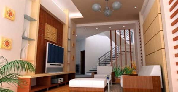 Tư vấn 10 mẫu thiết kế nội thất phòng khách nhà ống đẹp