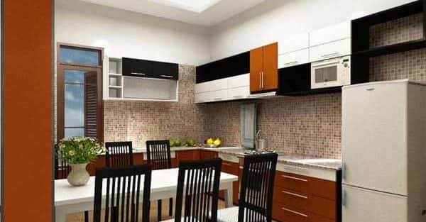 Thiết kế nội thất nhà phố 2 tầng  mặt tiền 4 m tiết kiệm chi phí