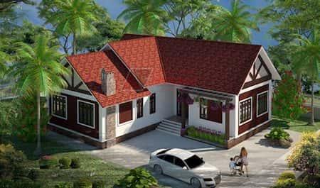 15 Mẫu thiết kế nhà cấp 4 đẹp tiết kiệm chi phí xây dựng