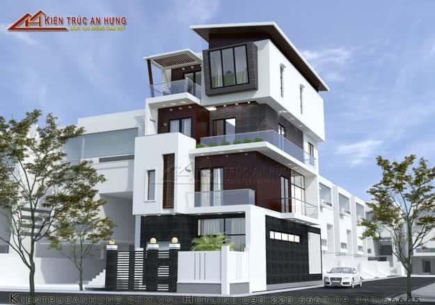 1429599231 mau thiet ke nha pho dep NP1048 - Thiết kế Nhà 6 x 18 m hai mặt tiền