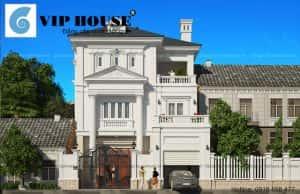 Biet thu 3 tang kieu Chau Au Viphouse vn 2 300x194 - Xây biệt thự phong thủy 1 tầng
