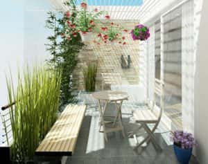ban cong nha dep 1 300x237 - Tiêu chuẩn những mẫu thiết kế lan can ban công đẹp và an toàn