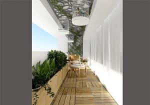 ban cong nha dep 19 300x210 - Tiêu chuẩn những mẫu thiết kế lan can ban công đẹp và an toàn