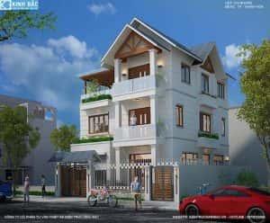 biet thu 3 tang chi nhung thanh hoa dep 5 300x248 - Tư vấn mẫu thiết kế biệt thự đẹp ở Đà Nẵng