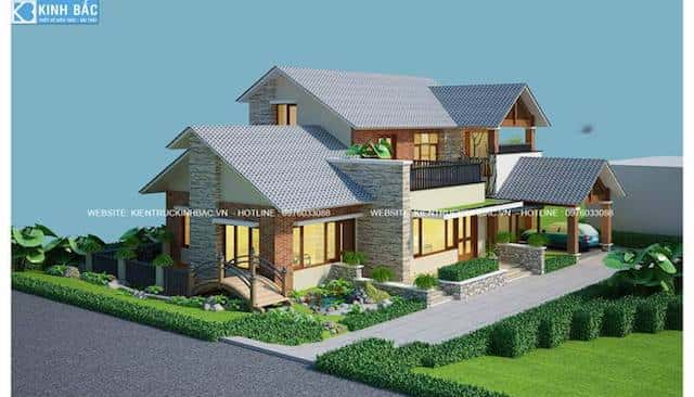 biet thu lap thach vinh phuc 3 - 30 Mẫu thiết kế biệt thự với kiến trúc hiện đại đẹp