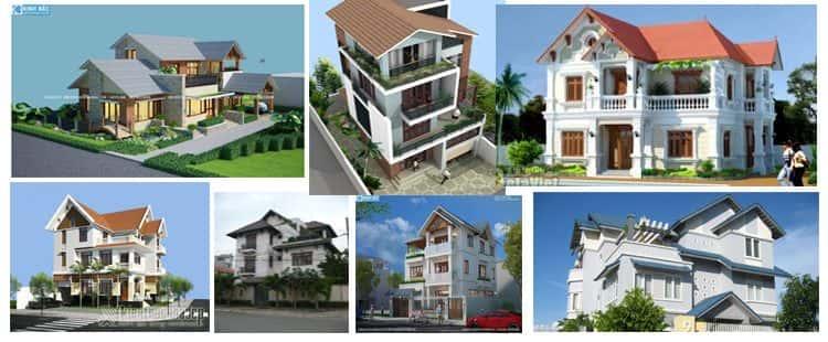 16 Mẫu biệt thự mái ngói đẹp được nhiều người thích thú