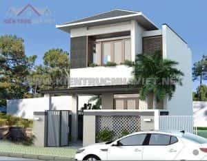mau nha 2 tang dep 0010 300x234 - Mẫu thiết kế nhà đẹp ở Thái Bình