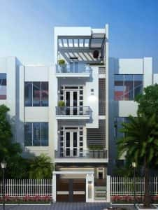 mau nha ong dep 20 226x300 - Mẫu thiết kế nhà đẹp ở Thái Bình
