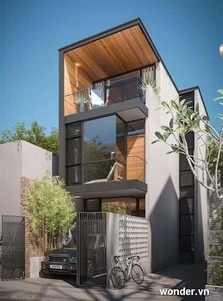 mau nha ong dep 3 - Thiết kế nhà đẹp ở tại Cần Thơ