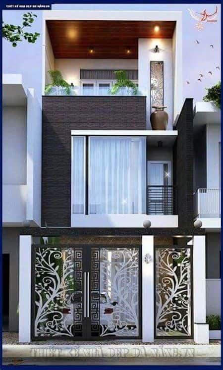 mau nha ong dep 4 - Thiết kế nhà đẹp ở tại Cần Thơ