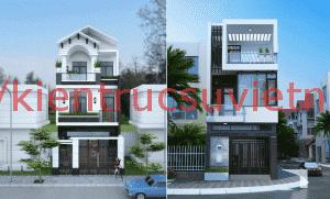 nha dep mat pho 1 300x181 - Mẫu thiết kế nhà phố 7x16m