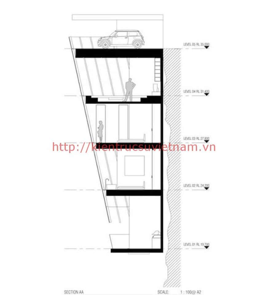 nha vach bien dep 2 - Ngôi nhà được thiết kế ở vách biển độc đáo