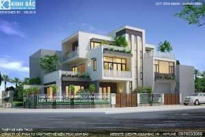 thi cong biet thu 3 tang  300x200 - Tư vấn mẫu thiết kế biệt thự đẹp ở Đà Nẵng