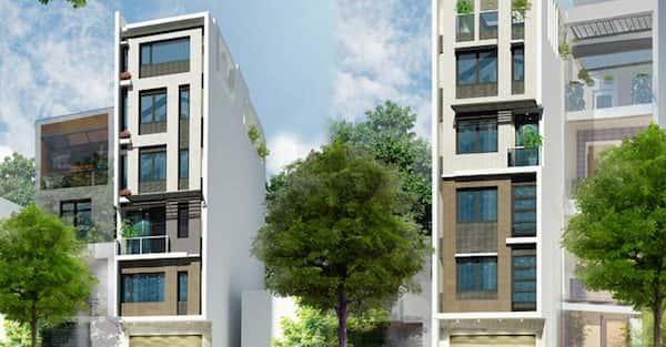 Tư vấn thiết kế nhà 5 tầng với mặt tiền 8m đẹp