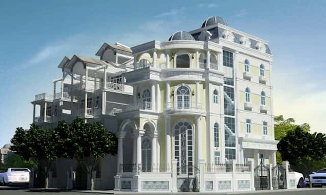 thiet ke noi that biet thu phong cach hoang gia chau Au 1 - Thiết kế biệt thự cổ điển đẹp