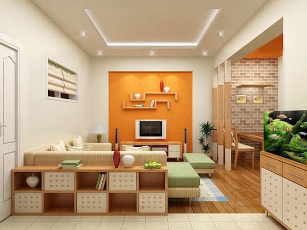 thiet ke noi that phong khach 7 - Thiết kế nội thất phòng khách - 4 bước đơn giản tạo nên không gian đẹp
