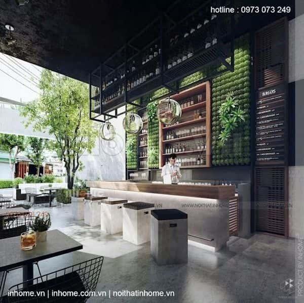 thiet ke quan cafe 23 - Các dự án thiết kế quán cafe đã thực hiện tại Hà Nội