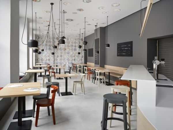 Các dự án thiết kế quán cafe phong cách hiện đại đã thực hiện