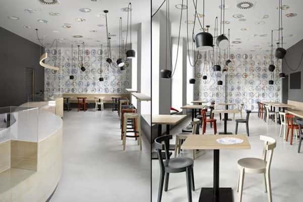 thiet ke quan cafe 42 - Các dự án thiết kế quán cafe phong cách hiện đại đã thực hiện