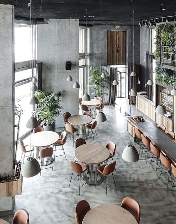 thiet ke quan cafe 9 - Các dự án thiết kế quán cafe phong cách hiện đại đã thực hiện