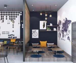 thiet ke quan cafe can tho 5 300x250 - Các dự án thiết kế quán cafe tại TP HCM