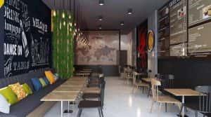 thiet ke quan cafe can tho 9 300x167 - Các dự án thiết kế quán cafe tại TP HCM