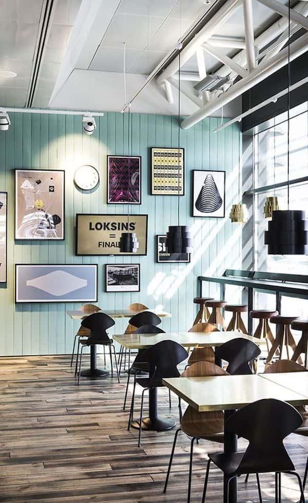 thiet ke quan cafe dep 2 - Các dự án thiết kế quán cafe phong cách hiện đại đã thực hiện