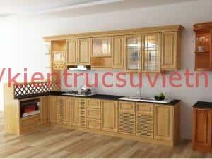 tu bep dep 13 300x226 - 10 mẫu nội thất phòng bếp nhà ống phổ biến nhất