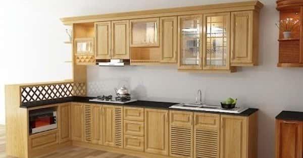 10 mẫu nội thất phòng bếp nhà ống phổ biến nhất