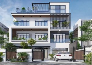 Tư vấn thiết kế biệt thự hiện đại 4 tầng 2 300x212 - Tư vấn thiết kế biệt thự hiện đại 4 tầng