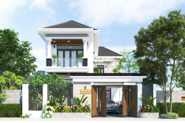bia thiet ke biet thu vuon mai thai neohouse 800x533 e1534238011383 - Biệt thự 2 tầng đẹp kinh phí 800 triệu