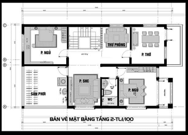 Biệt thự 2 tầng hiện đại 100m2
