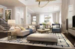 biet thu vinhomes the harmony noi that 10 300x199 - Tư vấn thiết kế nội thất chung cư 85m2