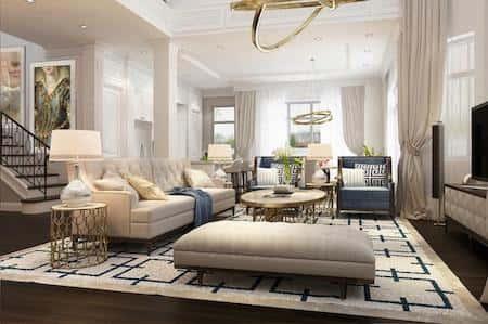 biet thu vinhomes the harmony noi that 10 - Bộ sưu tập mẫu thiết kế biệt thự phố đẹp và sang trọng