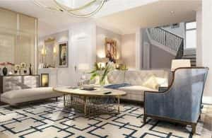 biet thu vinhomes the harmony noi that 11 300x195 - Tư vấn thiết kế nội thất chung cư 86m2