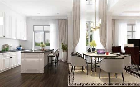 biet thu vinhomes the harmony noi that 12 - Dự án biệt thự 2 tầng phong cách hiện đại Vân Đồn, Quảng Ninh