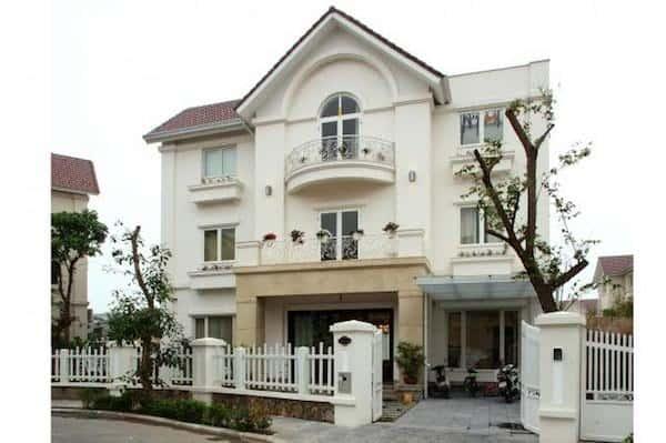 hoan thien biet thu vinhomes riverside 5 - 57 Mẫu thiết kế nhà mái thái đẹp nếu làm nhà các bạn nên tham khảo, mát phù hợp khí hậu nhiệt đới