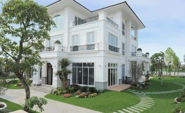 hoan thien biet thu vinhomes riverside 7 - Bộ sưu tập 45 mẫu biệt thự phố hiện đại đẹp ấn tượng