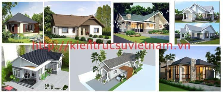 nha cap 4 dep 1a - Những mẫu nhà cấp 4 đẹp 100m2 mái thái xây giá từ 500 triệu