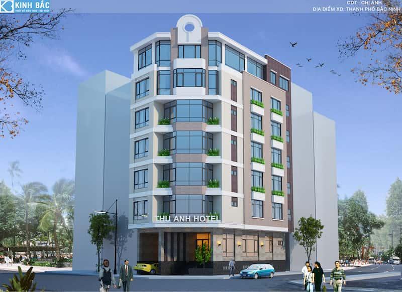 thiet ke khach san 7 tang dep tp bac ninh PC 1 - Thiết kế khách sạn 4 sao