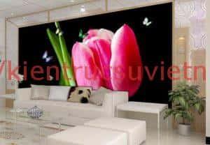 tranh tuong 3d phong khach ms004 300x208 - Tranh tường 3D dành cho phòng khách đẹp mê li