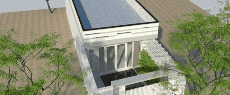 Tư vấn thiết kế nhà ống 1 tầng hiện đại